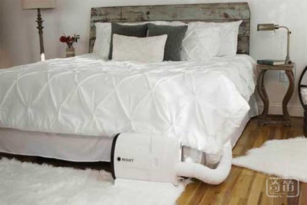 被窝瞬间变暖和或凉快,床上直接制冷/制暖设备BedJet