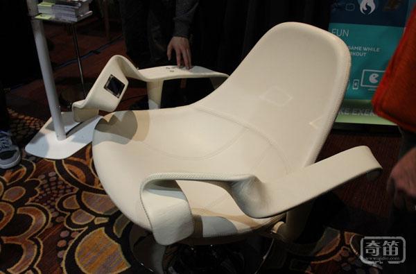 坐着也能锻炼身体,Tao Chair智能健身椅