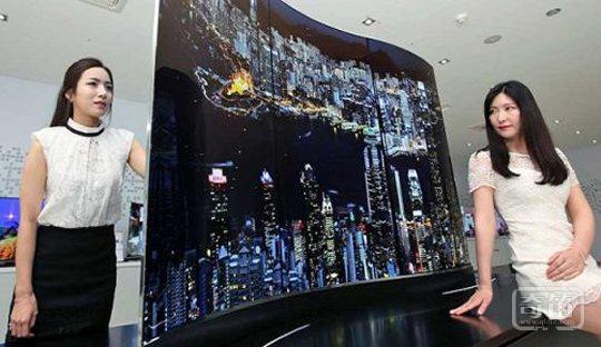 LG 推新款两面都能看的OLED 智能电视