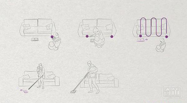 多种操作方式任选,围观新奇家用扫地机