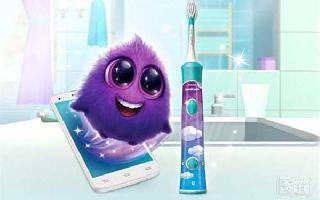 让孩子爱上刷牙,飞利浦智能电动牙刷