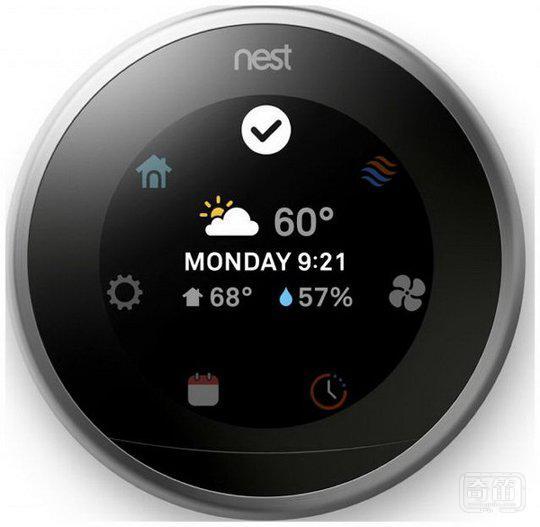 Nest发布第三代恒温器