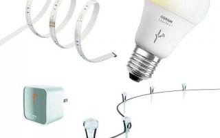 欧司朗智能灯泡Lightify 加入Nest家居控制系统