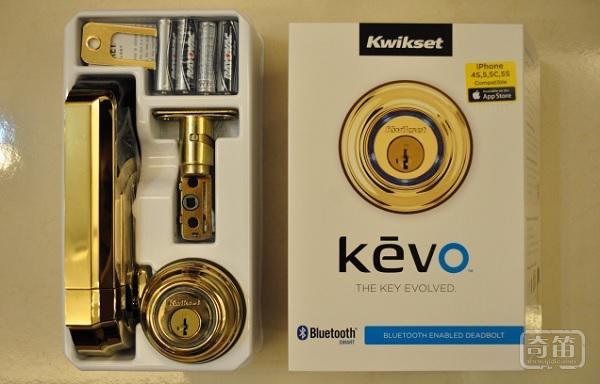 最佳智能门锁:Kwikset Kevo