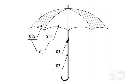 小米悄悄开始做智能伞,8 个摄像头分布其中