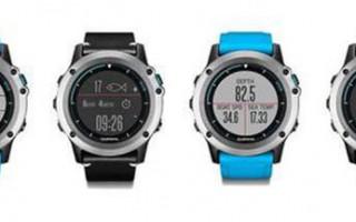 Garmin推水上运动智能手表Quatix 3 Marine GPS