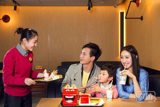 麦当劳在京的第一家智能化餐厅