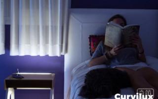 Curvilux智能床头柜:能接打电话还能放音乐