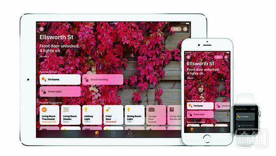 苹果带来全新的 HomeKit 之 Home 应用,意图夺得更大智能家居市场份额