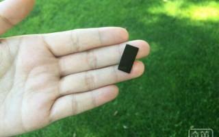斯坦福大学发明太阳能净水器 只有邮票大小