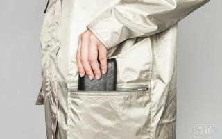时尚又保护隐私的金色风衣 IT潮人们得人手一件
