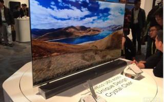 乐视CES推无边框分体电视 全玻璃设计屏幕厚6.9mm