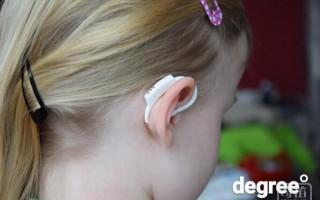 带着耳朵上的体温计 想知道孩子健康就看下手机