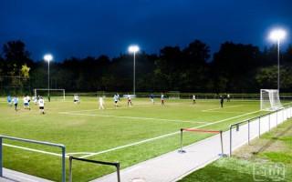 欧司朗LED泛光灯系统打造高效球场照明
