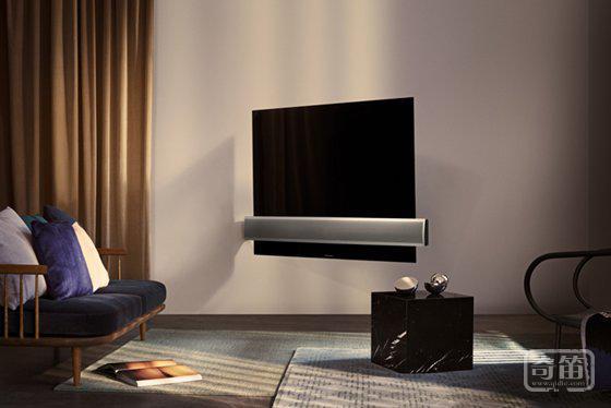 老牌音响 B& O 与 LG 合作推出了一款电视机,除了奢侈还是奢侈