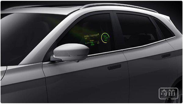 在车窗上做文章,威马量产车将实现车外交互功能