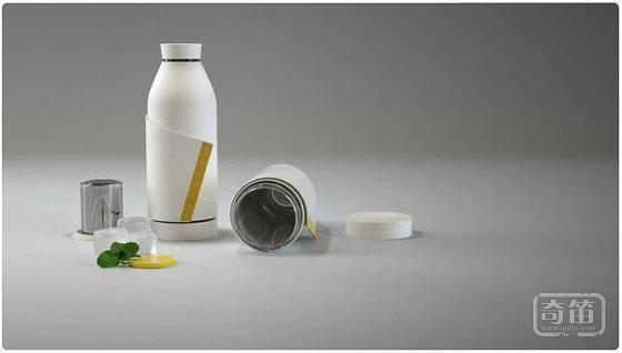 """这款可以""""穿""""的水杯,让你喝水时顺便拯救地球"""