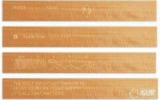 支持物联网的木头,最优雅的智能家居屏幕