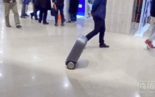 """一个""""解放双手""""的行李箱!除了能自动平衡还要做你的""""跟屁虫"""""""