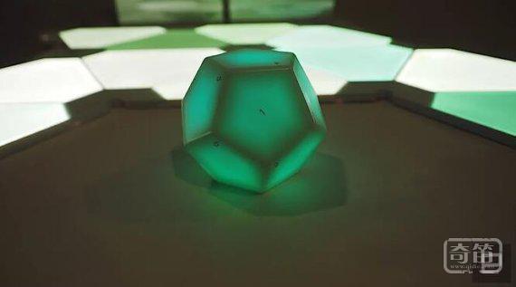Nanoleaf研发十二面体的智能家居控制器