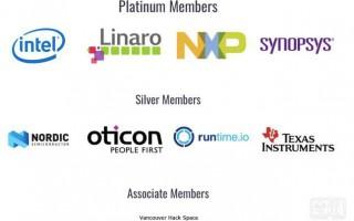 TI和Otion成为Zephyr银牌会员,刷新社区技术支持力度
