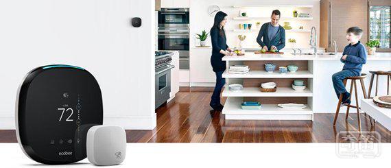 亚马逊投资智能温控器公司Ecobee,和谷歌智能家居战火再升级