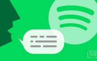 Spotify 测试语音功能,为智能音箱打下基础
