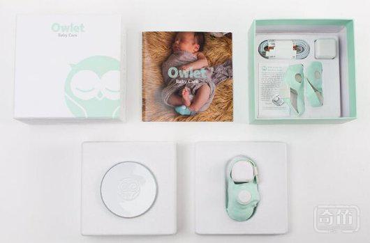 """用""""智能袜子""""监测婴儿健康数据,「Owlet」获 2400 万美元的B轮融资"""