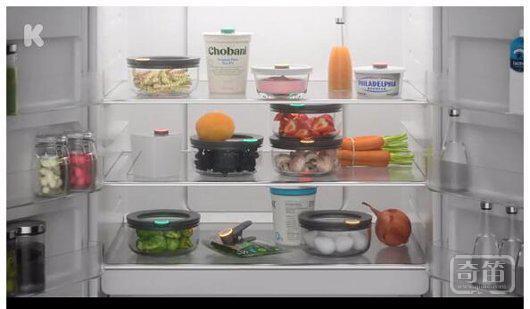 创意家居产品设计:智能食物保鲜标签